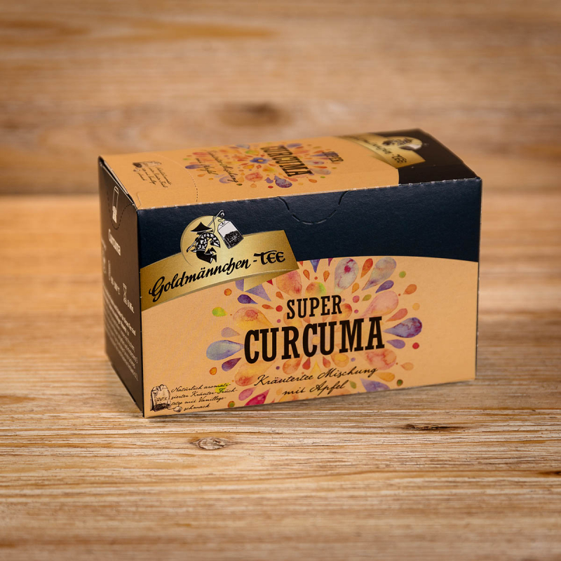 Curcuma Kräuter-Früchtetee