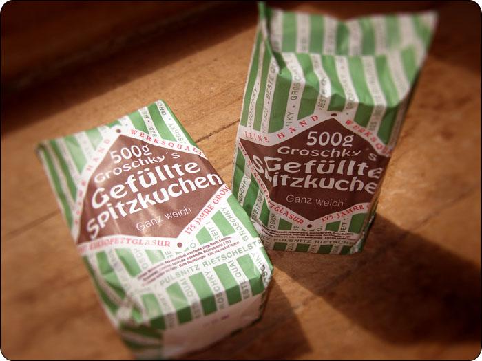 Gefüllte Spitzen mit Kakao. 500g.