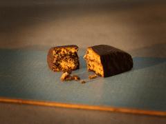 Nougat-Schokoladenspitzen